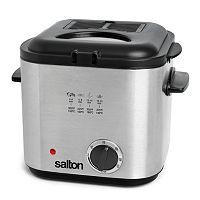 Salton 1.2-Liter Compact Deep Fryer