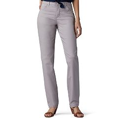 Women's Lee Instantly Slims High Waisted Straight-Leg Jeans