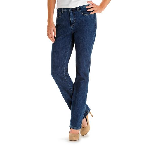 2d6f7fb4ea9 Women s Lee Instantly Slims High Waisted Straight-Leg Jeans