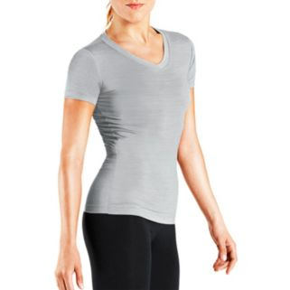 Women's Tommie Copper Recovery Compression V-Neck Tee