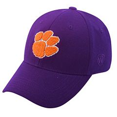 Adult Top of the World Clemson Tigers One-Fit Cap