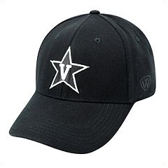 Adult Top of the World Vanderbilt Commodores One-Fit Cap