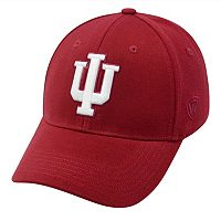Adult Top of the World Indiana Hoosiers One-Fit Cap