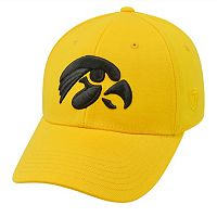 Adult Top of the World Iowa Hawkeyes One-Fit Cap
