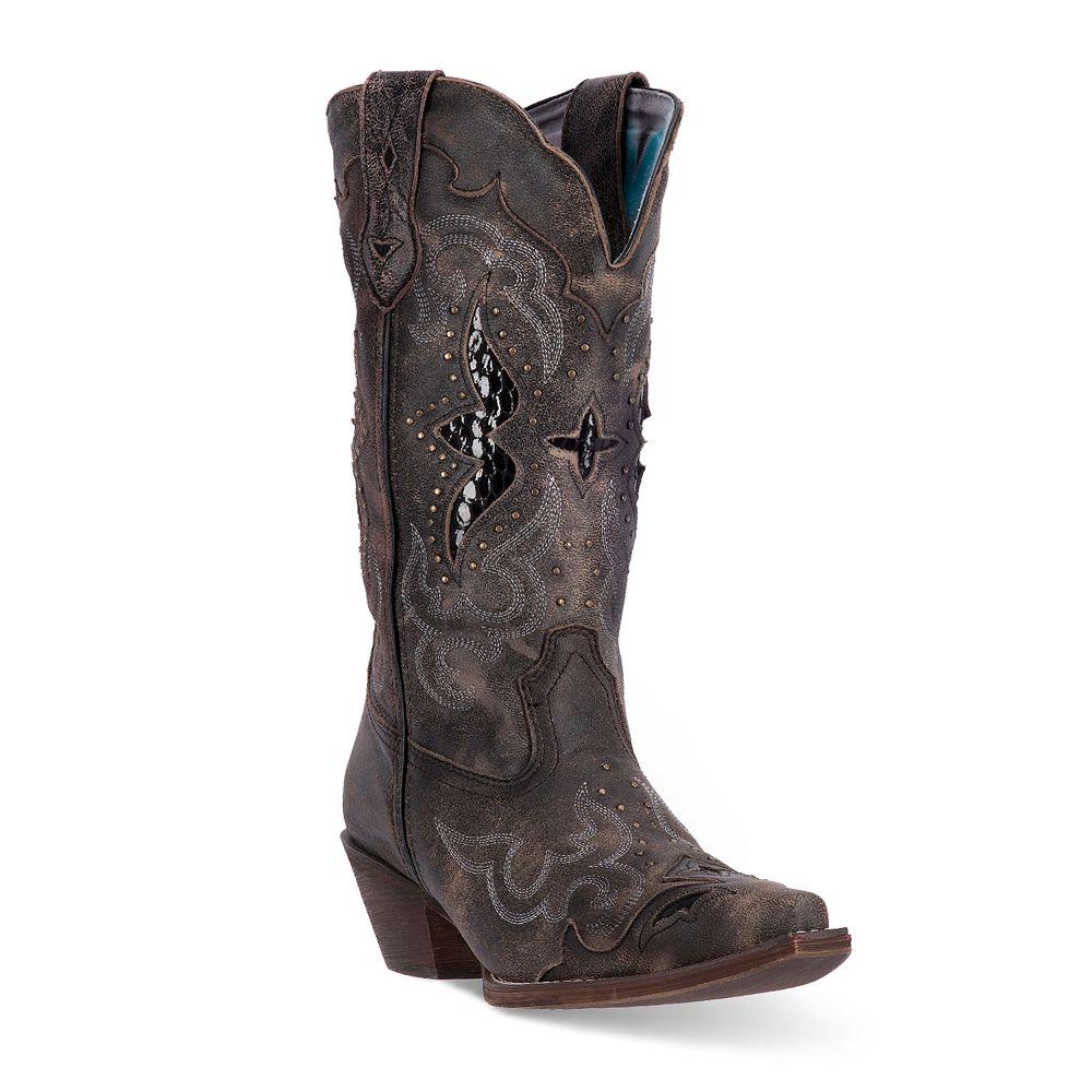 9a9983ff0a0 Laredo Lucretia Women's Snakeskin Print Cowboy Boots