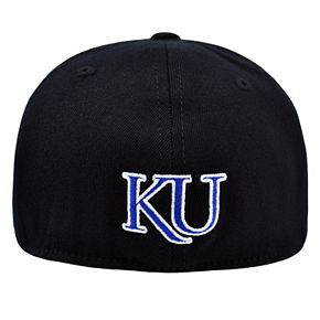 Adult Top of the World Kansas Jayhawks One-Fit Cap