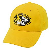Adult Top of the World Missouri Tigers One-Fit Cap