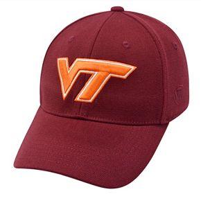 Adult Top of the World Virginia Tech Hokies One-Fit Cap