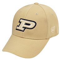 Adult Top of the World Purdue Boilermakers One-Fit Cap