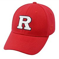 Adult Top of the World Rutgers Scarlet Knights One-Fit Cap