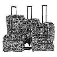 American Flyer Aztec 5-Piece Luggage Set