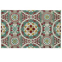 Kaleen Global Inspirations Floral Wool Rug
