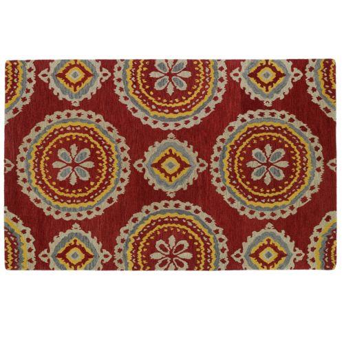 Kaleen Global Inspirations Suzani Wool Rug