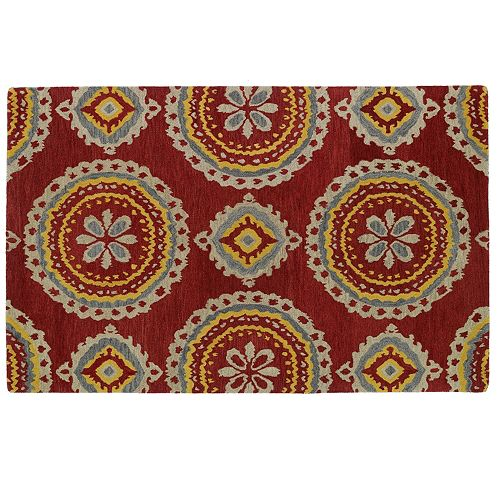 Kaleen Global Inspirations Suzani Wool Rug