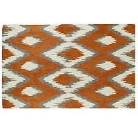 Kaleen Global Inspirations Diamond Geometric Wool Rug