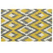 Kaleen Global Inspirations Diamond Geometric Wool Rug