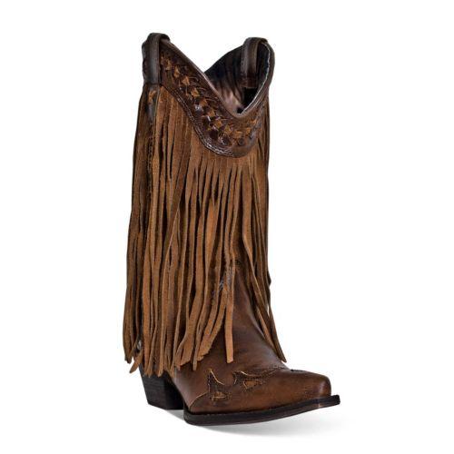 Heart Throb Women's Fringe Boots