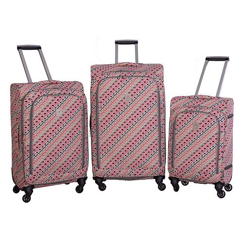 Jenni Chan Tiles Spinner Luggage