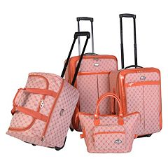 American Flyer Signature 4 pc Luggage Set