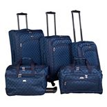 American Flyer Madrid 5-Piece Spinner Luggage Set