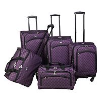 American Flyer Madrid 5 pc Spinner Luggage Set