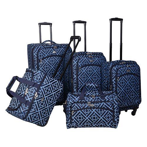 American Flyer Astor 5-Piece Luggage Set