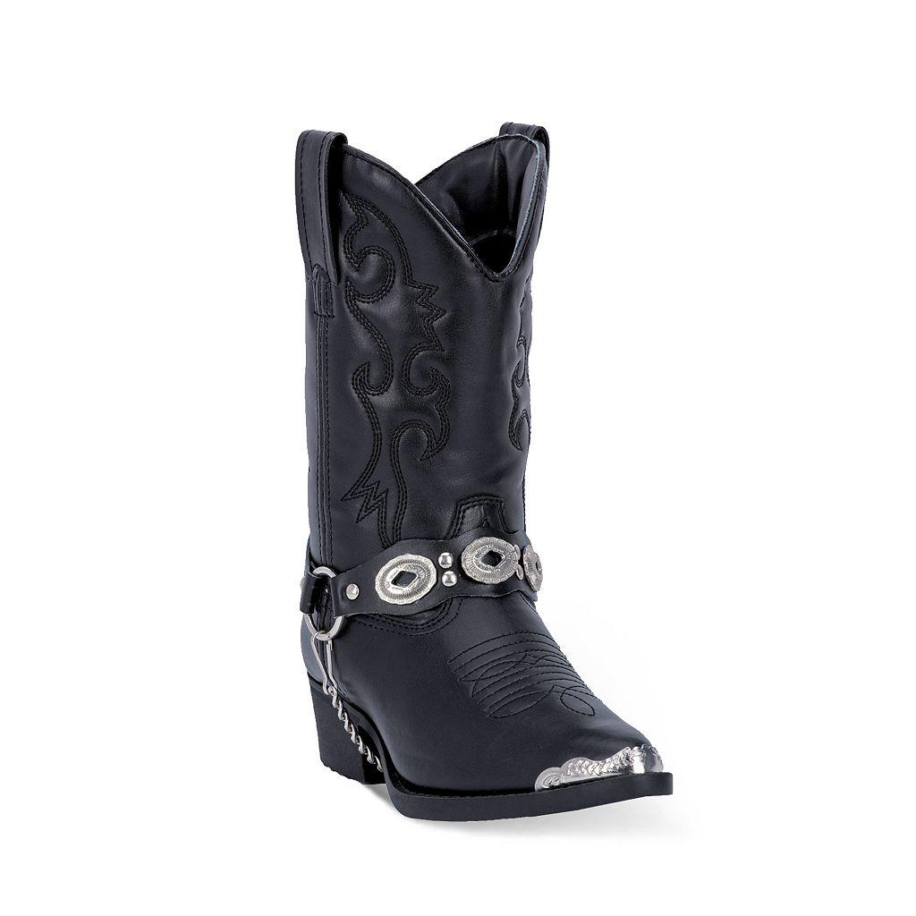 Laredo Little Concho Girls' Harness Western Boots