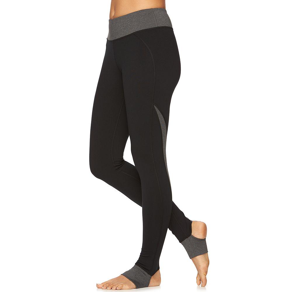 c18fc5b3e7 Women's Gaiam Om Panel Stirrup Barre Yoga Leggings