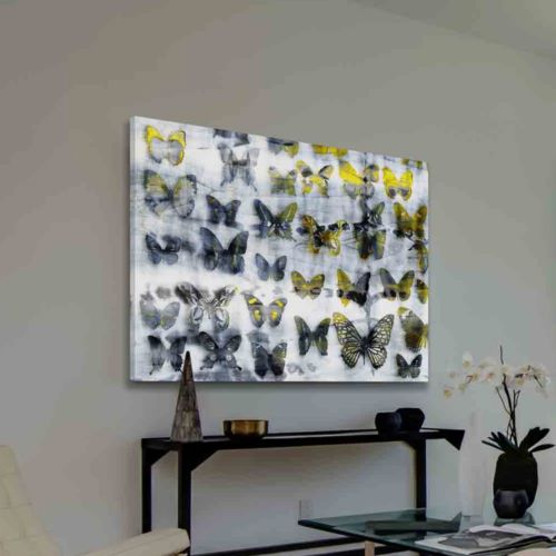 Parvez Taj Yellow Wings Canvas Wall Art