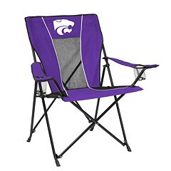 Adult Logo Brand Kansas State Wildcats Game Time Portable Folding Chair