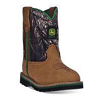 John Deere Toddler Mossy Oak Boots
