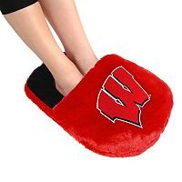 Adult Wisconsin Badgers Feetoes Oversized Slipper