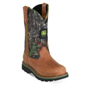 John Deere Women's Mossy Oak Work Boots