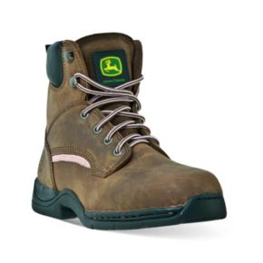 John Deere Women's Steel-Toe Hiking Boots