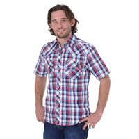 Big & Tall Dickies Western Plaid Button-Down Shirt