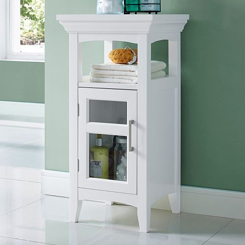Simpli Home Avington Floor Storage Cabinet