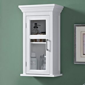 Simpli Home Avington Single Door Wall Cabinet