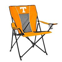 Adult Logo Brand Tennessee Volunteers Game Time Portable Folding Chair