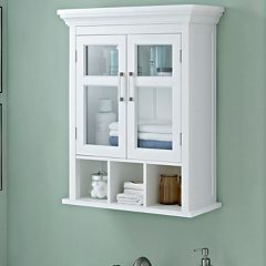 Simpli Home Avington Two Door Wall Cabinet