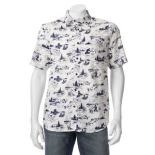 Men's Field & Stream Fishing Button-Down Shirt