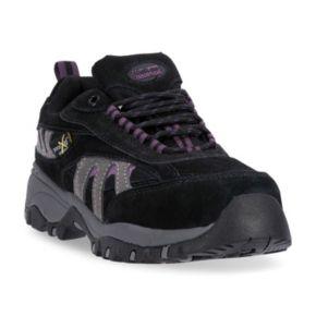 McRae Industrial Women's Steel-Toe Metatarsal Guard Mid Hiking Shoes
