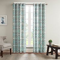 Madison Park Stetsen Diamond Printed Window Curtain