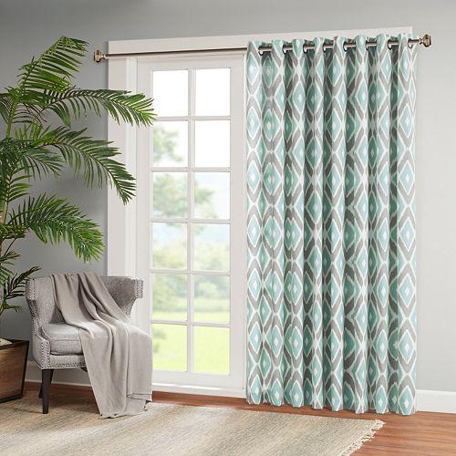 Curtains Ideas curtains madison wi : Park Stetsen Diamond Printed Patio Curtain