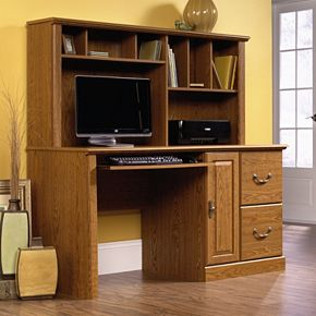 Orchard Hills Computer Desk & Hutch
