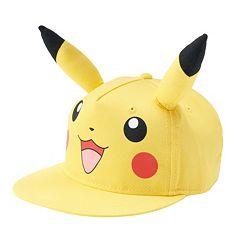 Youth Pokémon Pikachu Ears Snapback Cap