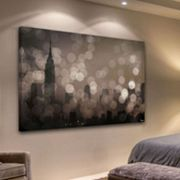 Parvez Taj ''NY Sleeping'' Canvas Wall Art