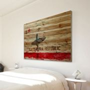 Parvez Taj ''The Republic'' Wood Wall Art