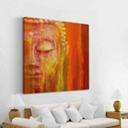 Parvez Taj ''Buddha'' Canvas Wall Art