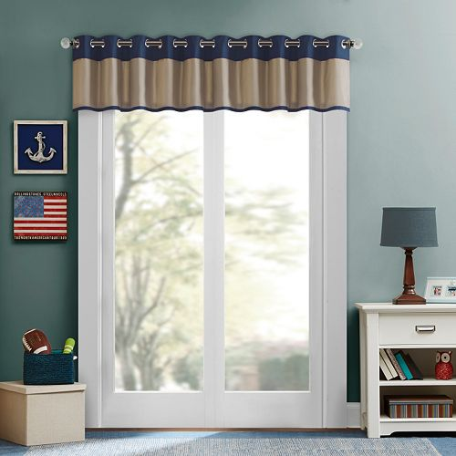 Mi Zone Lucas Energy Saving Window Valance - 50'' x 18''