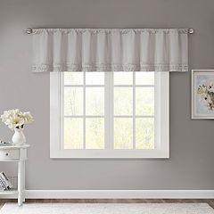 Madison Park Kylie Horizontal Ruffle Window Valance - 50'' x 18''